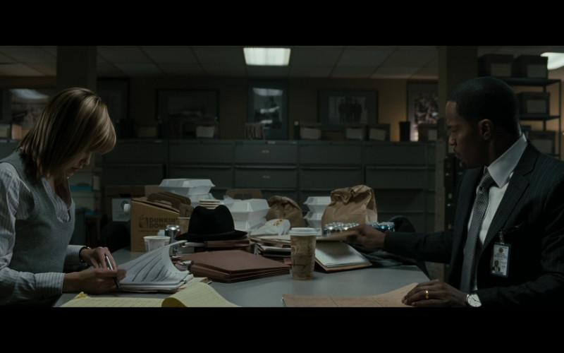 Dunkin' Donuts Box in Law Abiding Citizen (2009)