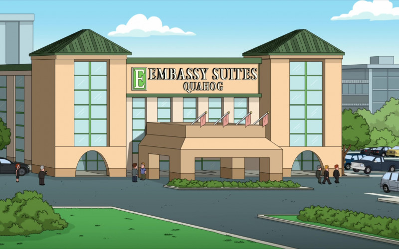 Embassy Suites by Hilton in Family Guy S19E14 The Marrying Kind (2021)