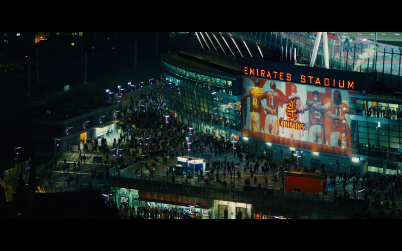 Emirates Stadium, London in Our Kind of Traitor (2016)