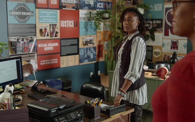 Epson Printer in Good Trouble S03E05 Because, Men (2021)