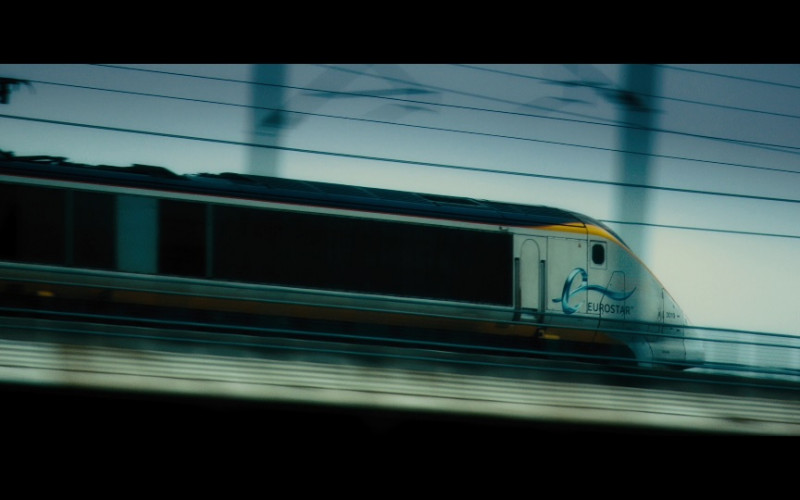 Eurostar Train in Our Kind of Traitor (2016)