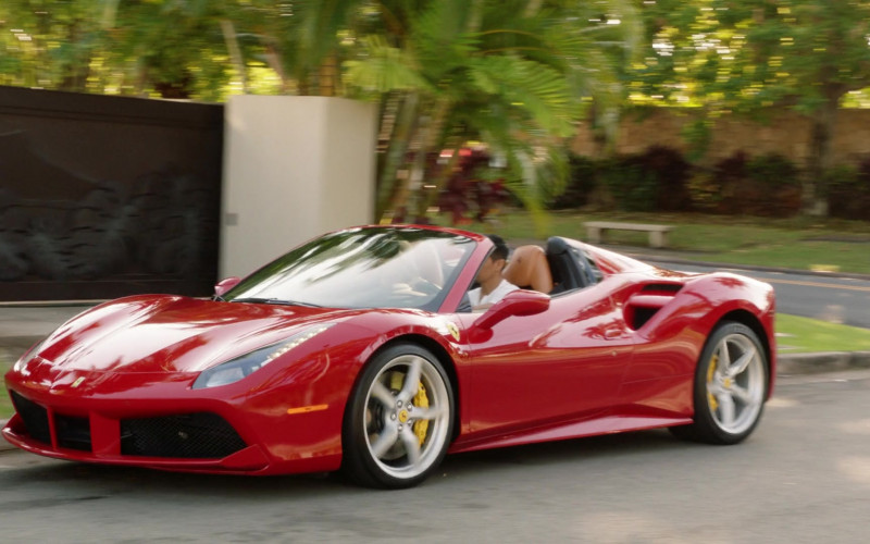 Ferrari 488 Spider Sports Car in Magnum P.I. S03E11 (2)