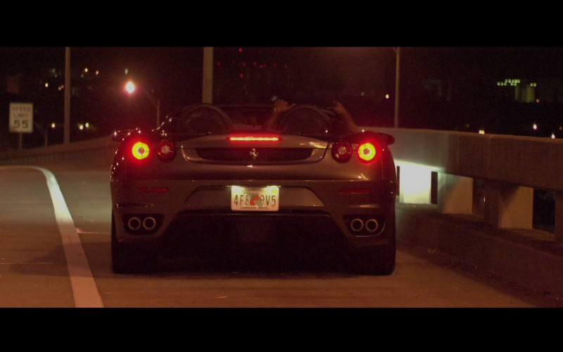 Ferrari F430 Spider Sports Car in Miami Vice (2006)