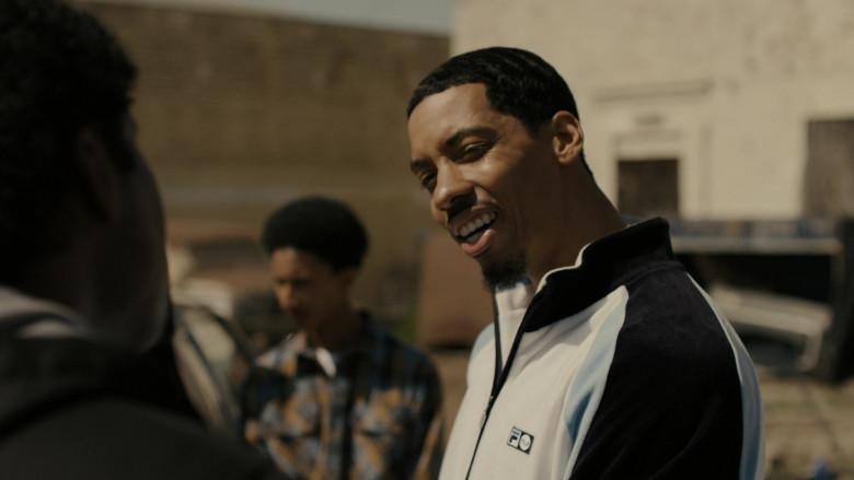 Fila Men's Track Top of Melvin Gregg as Drew 'Manboy' Miller in Snowfall S04E03 TV Show (2)