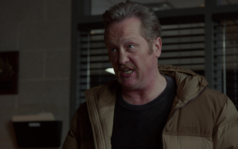Filson Jacket of ast Member Christian Stolte as Randall 'Mouch' McHolland in Chicago Fire S09E09 TV Show (4)