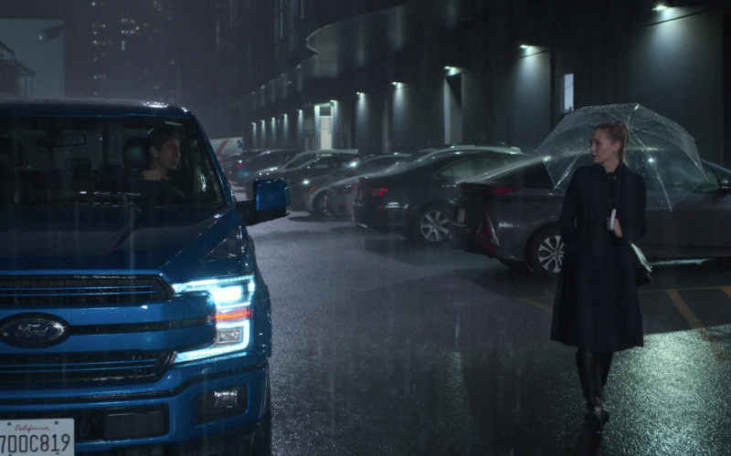 Ford F-150 Blue Pickup Truck in The Good Doctor S04E13 2021 (1)