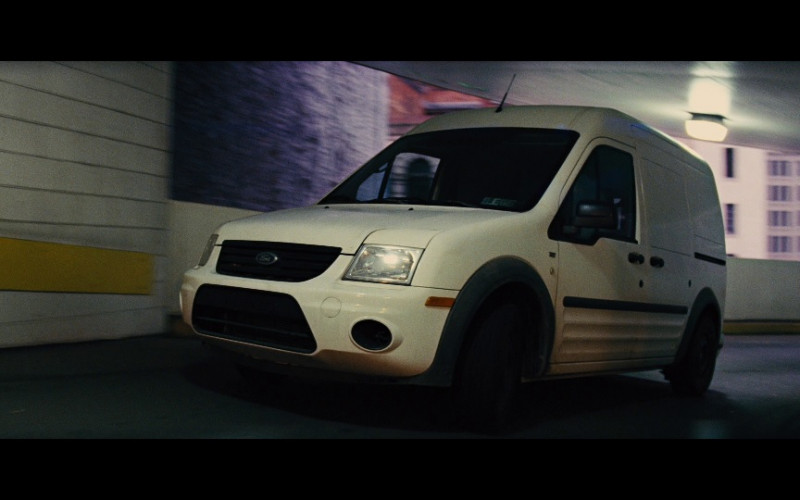 Ford Transit Connect White Car in Jack Reacher (1)