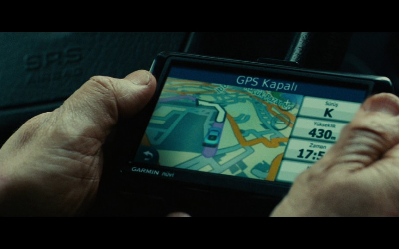 Garmin Nüvi GPS Navigator in Taken 2 (2012)