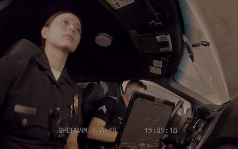 Getac Laptop in The Rookie S03E07 True Crime (2021)