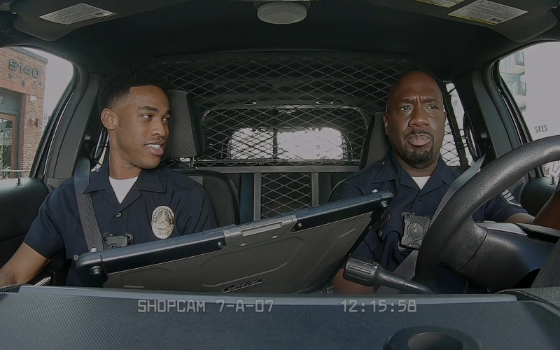 Getac Laptop in The Rookie S03E08 Bad Blood (2021)