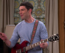 Gibson Guitar of Max Greenfield in The Neighborhood S3E11 W...