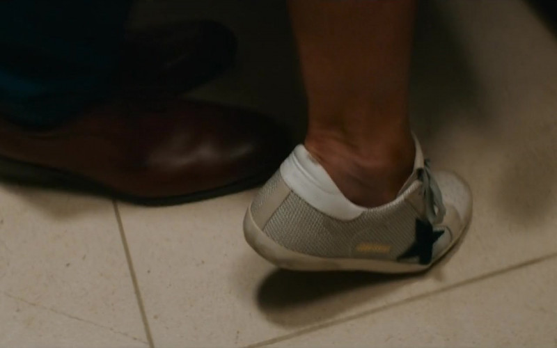 Golden Goose Shoes of Kristin Davis as Mary Morrison in Deadly Illusions Movie (1)