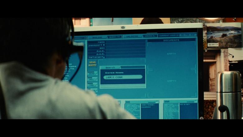 HP Computer Monitor in Taken 2 (2012)