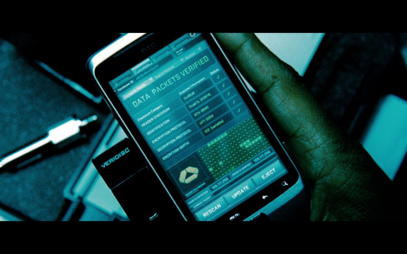 HTC Smartphone in Safe House (2012)