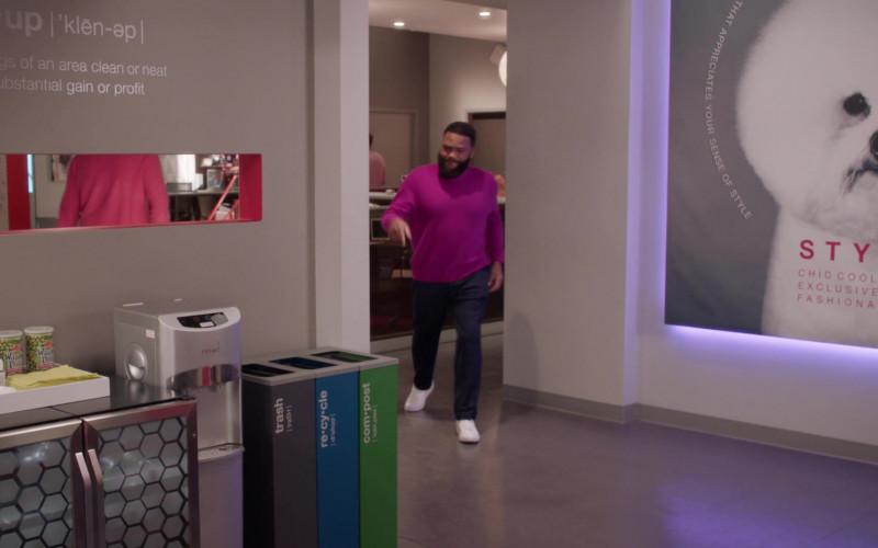Hapi Hot Wasabi Peas in Black-ish S07E16 100 Yards and Runnin' (2021)