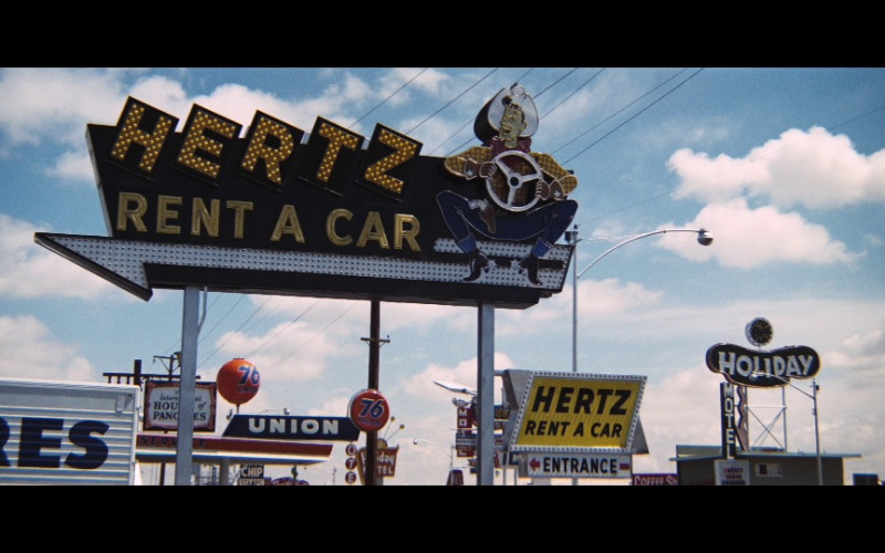 Hertz Rent A Car & Union 76 in Diamonds Are Forever (1971)