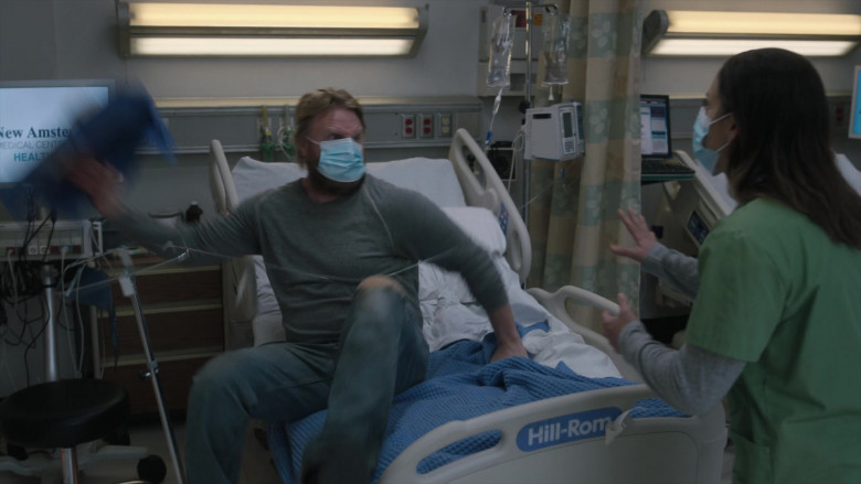 Hill-Rom Hospital Bed in New Amsterdam S03E04 This Is All I Need (2021)
