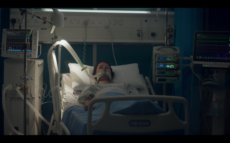 Hill-Rom Hospital Bed in The One S01E03 (2021)