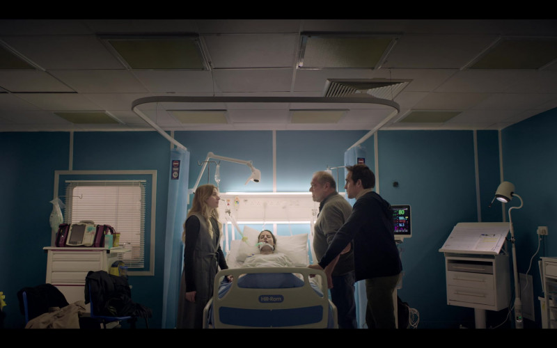 Hill-Rom Hospital Bed in The One S01E04 (2021)
