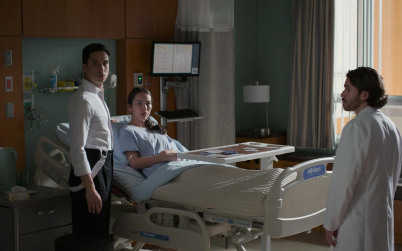 Hill-Rom Hospital Beds in The Good Doctor S04E13 TV Show (1)