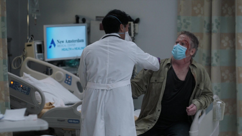 Hill-Rom in New Amsterdam S03E01 The New Normal (2)