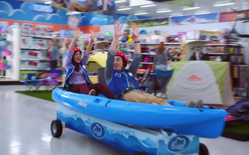 Hobie Kayak Used by America Ferrera & Ben Feldman in Superstore S06E15 TV Series (1)