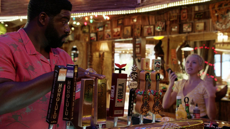 Honolulu Beerworks, Kohola Brewery, Aloha Beer Company and Waikiki Brewing Company in Magnum P.I. S03E11 The Lies We Tell (