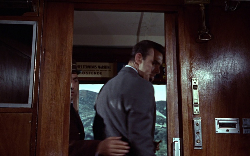 Hotel Terminus Maritime, Oostende (ad) in From Russia with Love (1963)