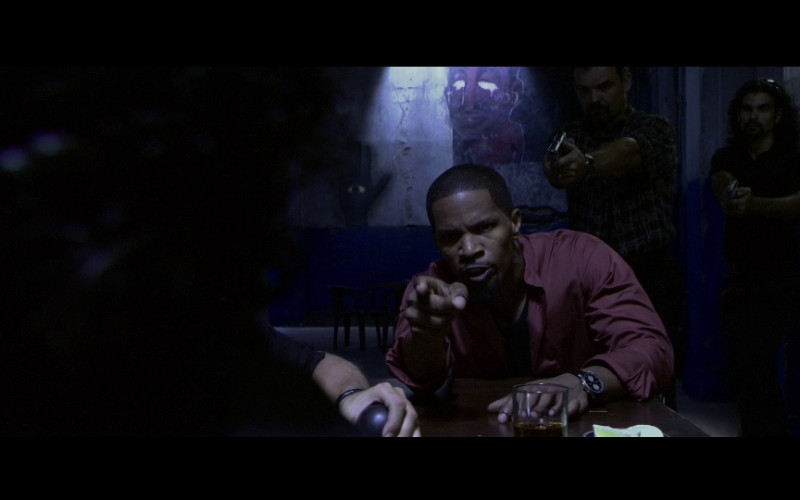 IWC Portuguese Chrono-Automatic Men's Watch of Jamie Foxx in Miami Vice (2006)