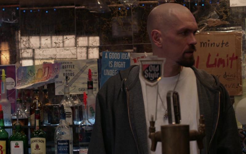 J&B, Jagermeister, Jameson, Seagram's Vodka, Old Style Draft Beer in Shameless S11E08 Cancelled (2021)