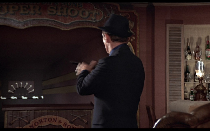 J&B whisky in The Man with the Golden Gun (1974)