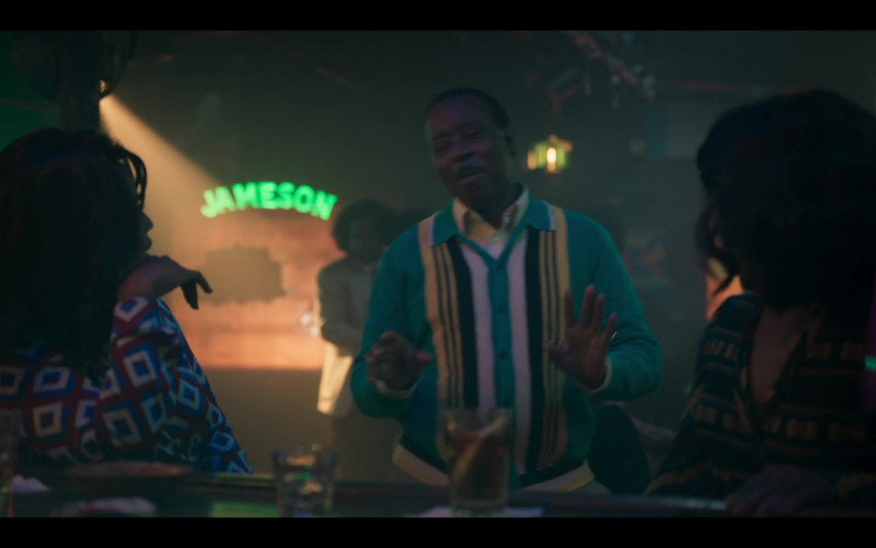 Jameson Whiskey Sign in Genius Aretha S03E07 Chain of Fools (2021)