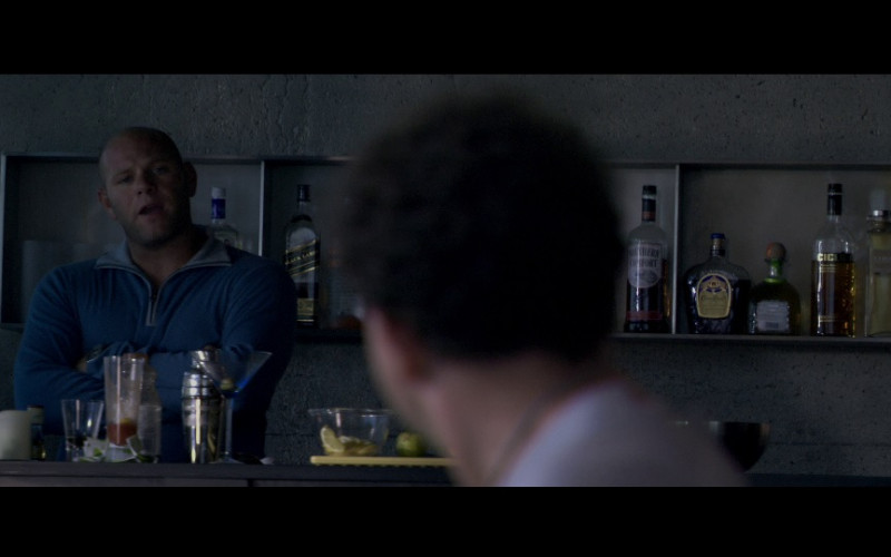 Johnnie Walker Black Label, Southern Comfort, Crown Royal whisky in Miami Vice (2006)