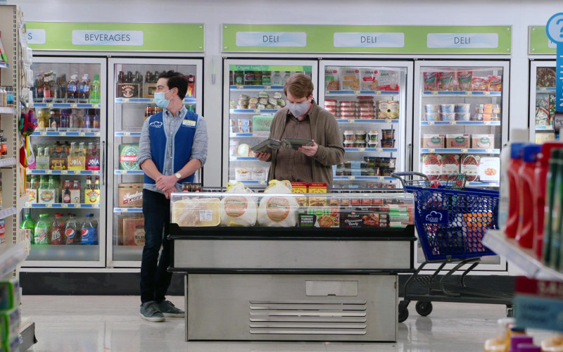 Joia Life Sodas, Mtn Dew, Big Red, Pepsi Max, Daiya Foods in Superstore S06E12 Customer Satisfaction (2021)