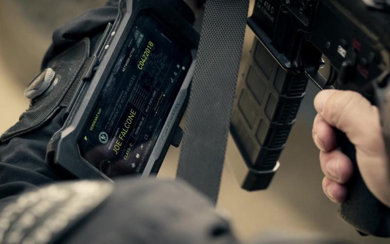 Juggernaut.Case Smartphone Case in S.W.A.T. S04E10 Buried (2021)
