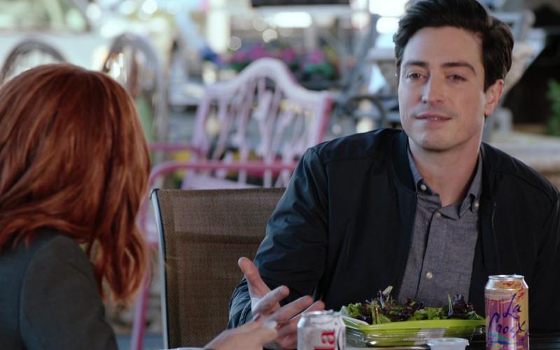 LaCroix Drink of Cast Member Ben Feldman as Jonah Simms in Superstore S06E14 TV Show (1)
