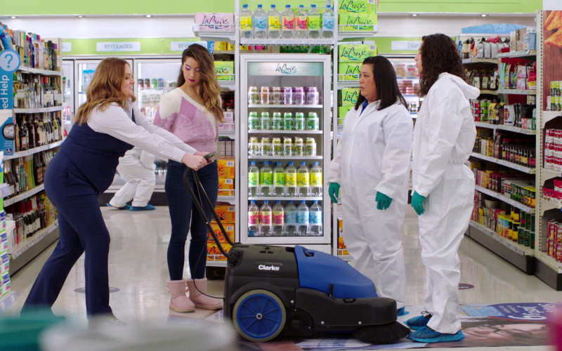 LaCroix Drinks, Nilfisk Clarke Machine, Campbell's in Superstore S06E11 Deep Cleaning (2021)
