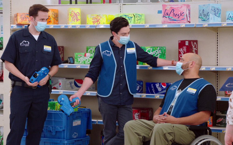 LaCroix, Shasta, Diet Pepsi, Pepsi Cola, A&W Root Beer, Big Red, Sunkist & Mtn Dew Drinks in Superstore S06E15