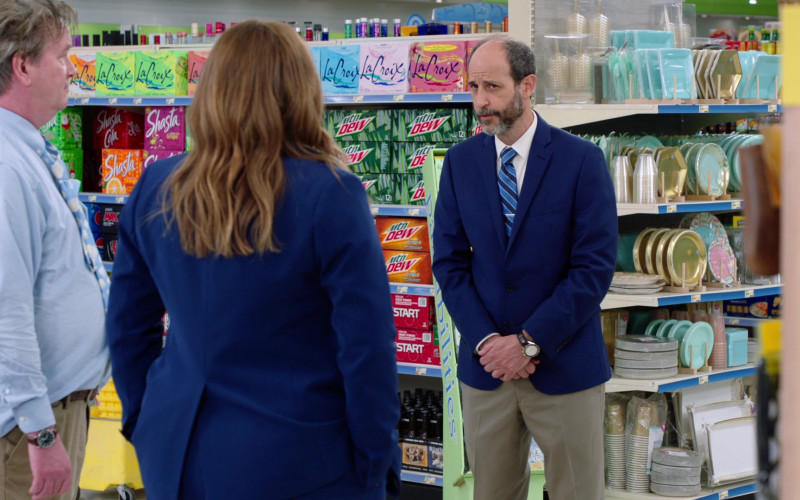 LaCroix, Shasta and Mountain Dew Soda Drinks in Superstore S06E12 Customer Satisfaction (2021)
