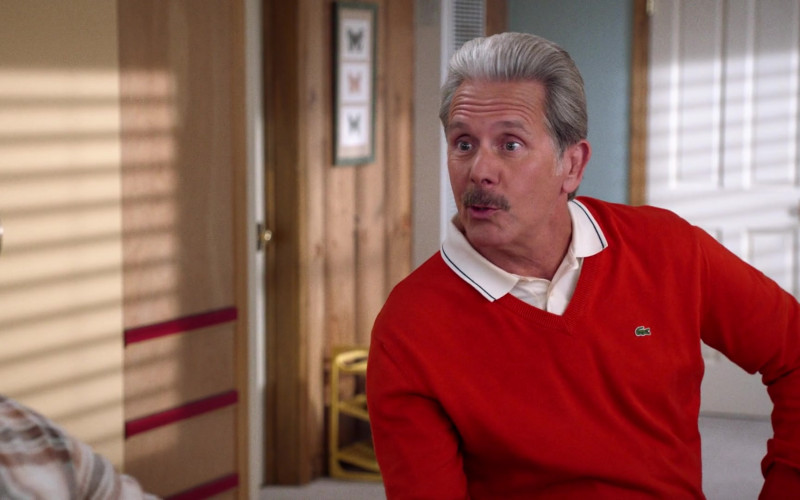 Lacoste Men's Sweater of Cast Member Gary Cole as Harrison Jackson III in Mixed-ish S02E07 TV Show (2)