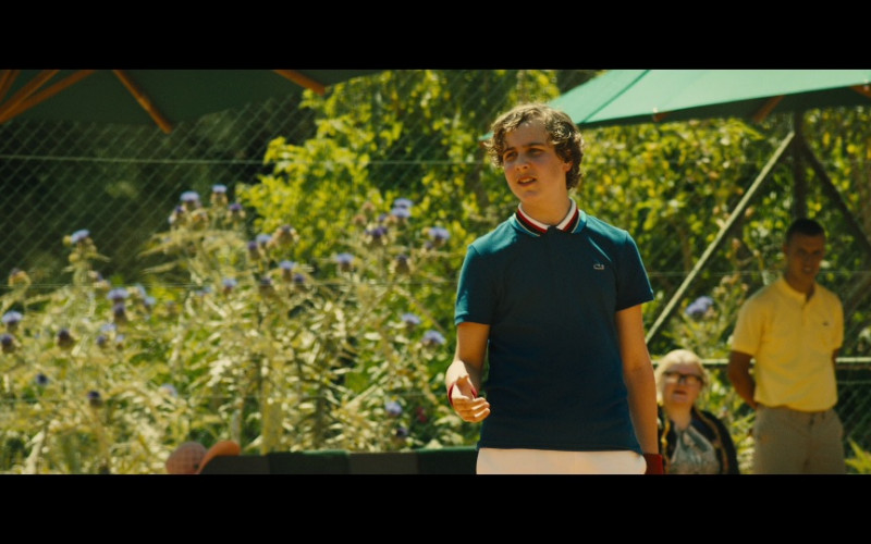 Lacoste Polo Shirt in Our Kind of Traitor (2016)