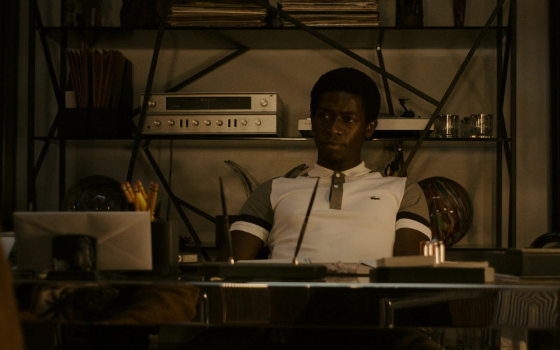 Lacoste Polo Shirt of Actor Damson Idris as Franklin Saint in Snowfall S04E05 (2)
