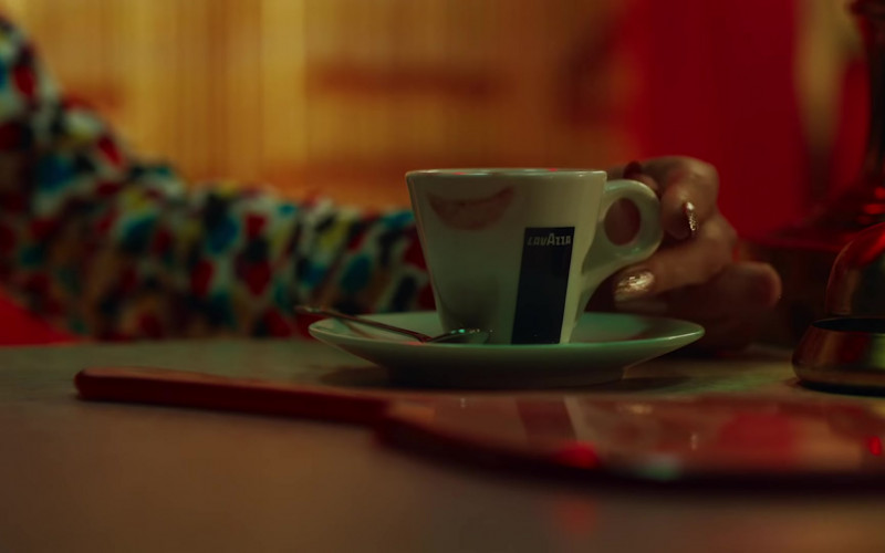 Lavazza Coffee Mug of Selena Gomez in Selfish Love Music Video (2)