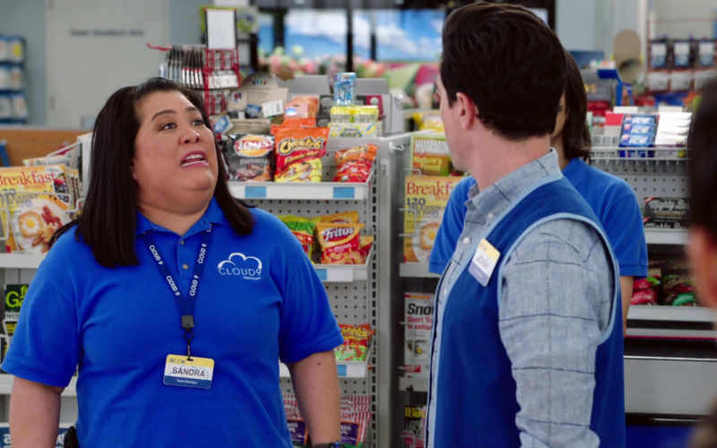 Lay's, Cheetos, Funyuns, Fritos and Tim's Cascade Snacks in Superstore S06E12 Customer Satisfaction (2021)