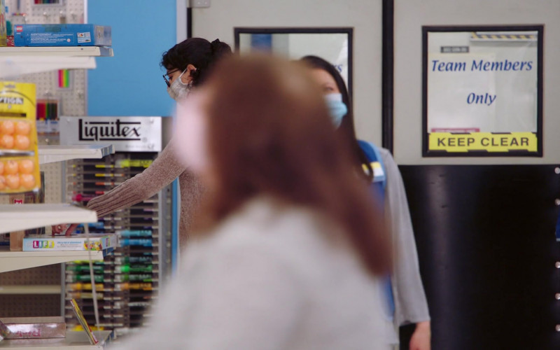 Lego, Stiga and Liquitex in Superstore S06E15 All Sales Final (2021)
