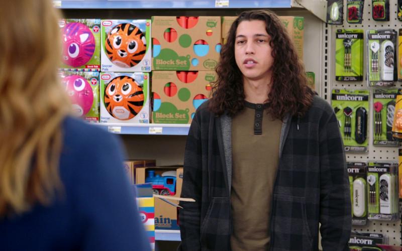 Little Tikes Soccer Pals, Green Toys, Unicorn Darts, Stiga in Superstore S06E13 Lowell Anderson (2021)