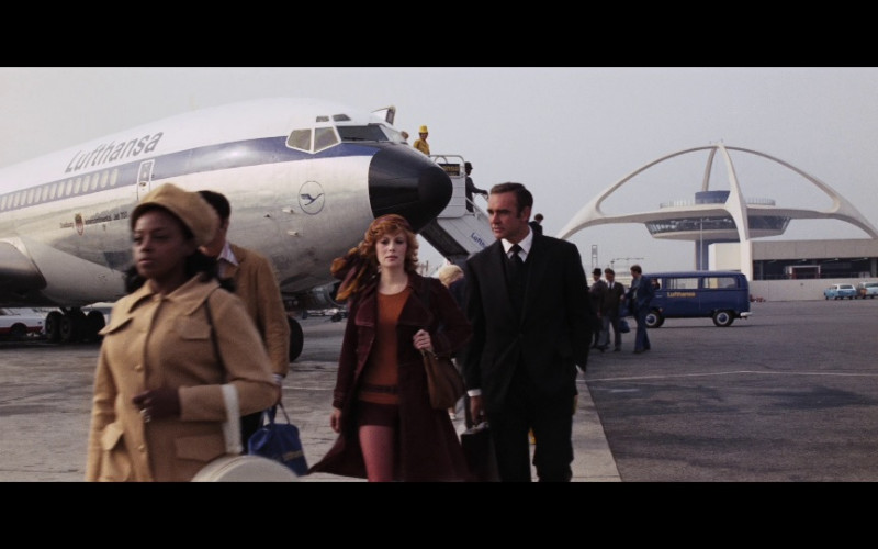 Lufthansa Airline in Diamonds Are Forever Movie (1)