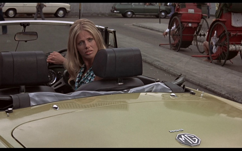 MG B Roadster of Britt Ekland as Mary Goodnight in The Man with the Golden Gun (1)