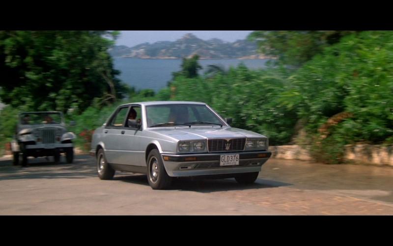 Maserati Biturbo 425i Car in Licence To Kill (1)