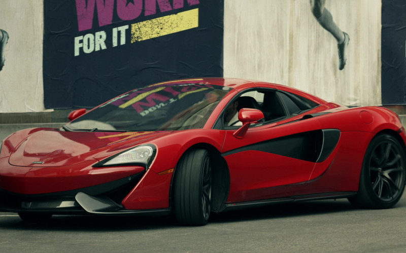 McLaren 570S Red Sports Car in S.W.A.T. S04E11 TV Show (1)